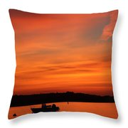 Morning Sunrise 09-02-18 Throw Pillow