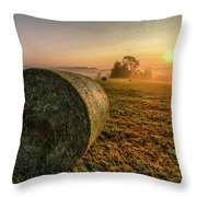 Morning Sunrise Throw Pillow