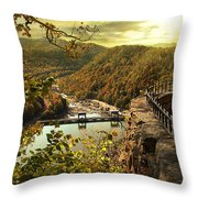 Morning Sunshine Throw Pillow by Lj Lambert