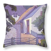 Morning, The South Downs By Robert Polhill Bevan Throw Pillow