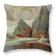 Morning Tide Throw Pillow