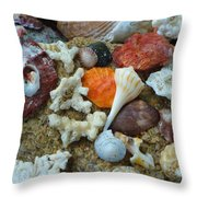 Morning Treasures Throw Pillow