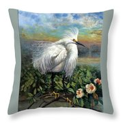 Morning Watch Throw Pillow