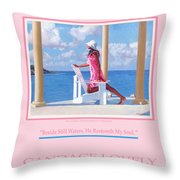 Morning Watch Poster Throw Pillow