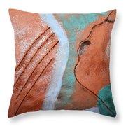 Mornings - Tile Throw Pillow