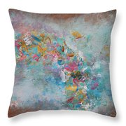 Moroccan Dream Part 1 Throw Pillow