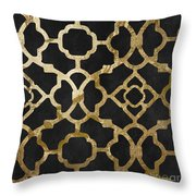 Moroccan Gold IIi Throw Pillow