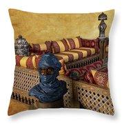 Moroccan Room Throw Pillow