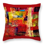 Moroccan Souk Throw Pillow