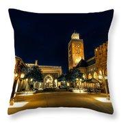 Morocco Pavilion, Epcot, Walt Disney World, Lake Buena Vista, Florida Throw Pillow
