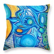 Morphism And Energy Throw Pillow