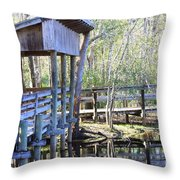 Morris Bridge Throw Pillow
