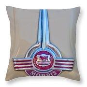 Morris Hood Emblem Throw Pillow