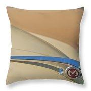 Morris Hood Ornament  Throw Pillow