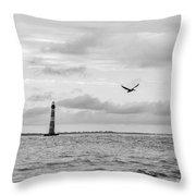 Morris Lighthouse Throw Pillow