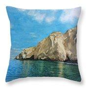 Morro Ballena North Of Chile Throw Pillow
