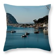 Morro Bay Rock Throw Pillow