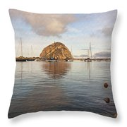 Morro Rocks Throw Pillow