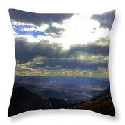 Morrow Lake Throw Pillow