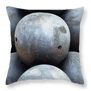 Mortar Shells Throw Pillow