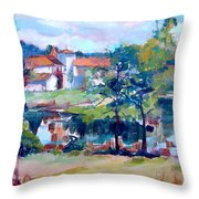 Mortemart 87 Throw Pillow