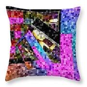 Mosaic #106 Throw Pillow
