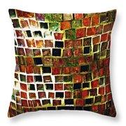 Mosaic 16 Throw Pillow