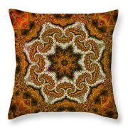Mosaic Antigua Throw Pillow