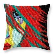 Mosaic Indie Throw Pillow