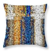 Mosaic Magic Throw Pillow
