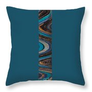 Mosaic Tower Throw Pillow