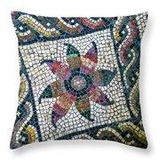 Mosaico Pavimentale Throw Pillow