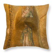 Mosaics In Church Of Theotokos Pammakaristos Throw Pillow