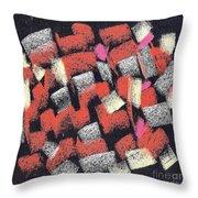 Mosaics Multicolor Throw Pillow