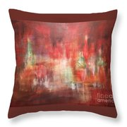 Abstract Moscow Throw Pillow