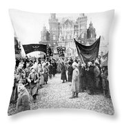 Moscow: Red Army, C1920 Throw Pillow