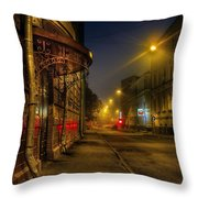 Moscow Steampunk Throw Pillow