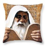 Moses - Lgmss Throw Pillow
