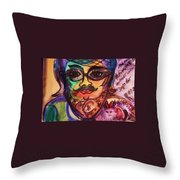 Moshammer And Dayse Throw Pillow