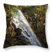 Mosher Hill Falls Throw Pillow