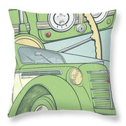 Moskvich 401 Throw Pillow