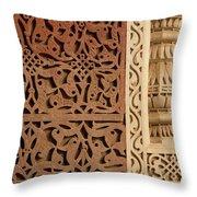 Mosque Detail Throw Pillow