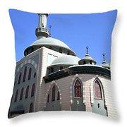 Mosque Throw Pillow