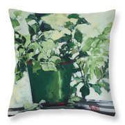 Mosquito Be Gone Throw Pillow