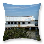 Mosquito Lagoon Florida Throw Pillow