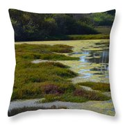 Moss Landing Throw Pillow