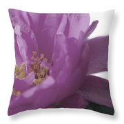 Moss Rose IIi Throw Pillow