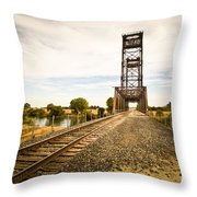Mossdale Rails Throw Pillow