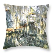 Mossy Live Oak Throw Pillow