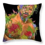 Mossy Mack Throw Pillow